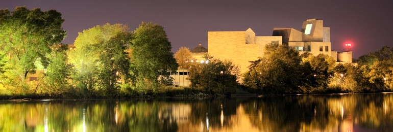 Iowa campus reflection