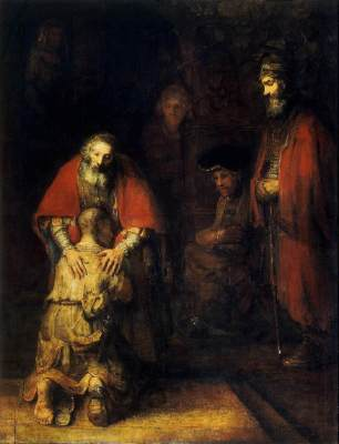 Rembrandt - The Prodigal Son