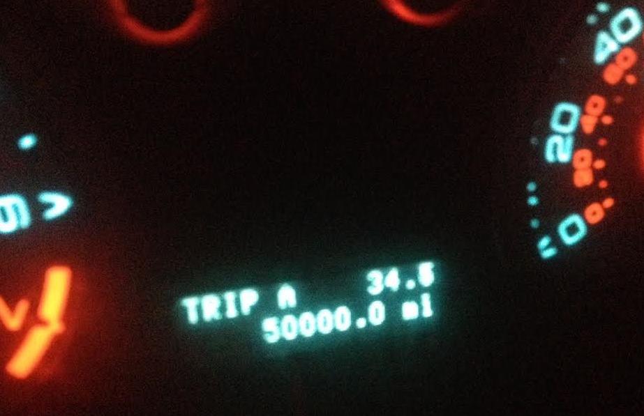 odometer 50K