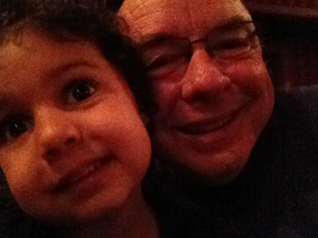 Selah and Papa
