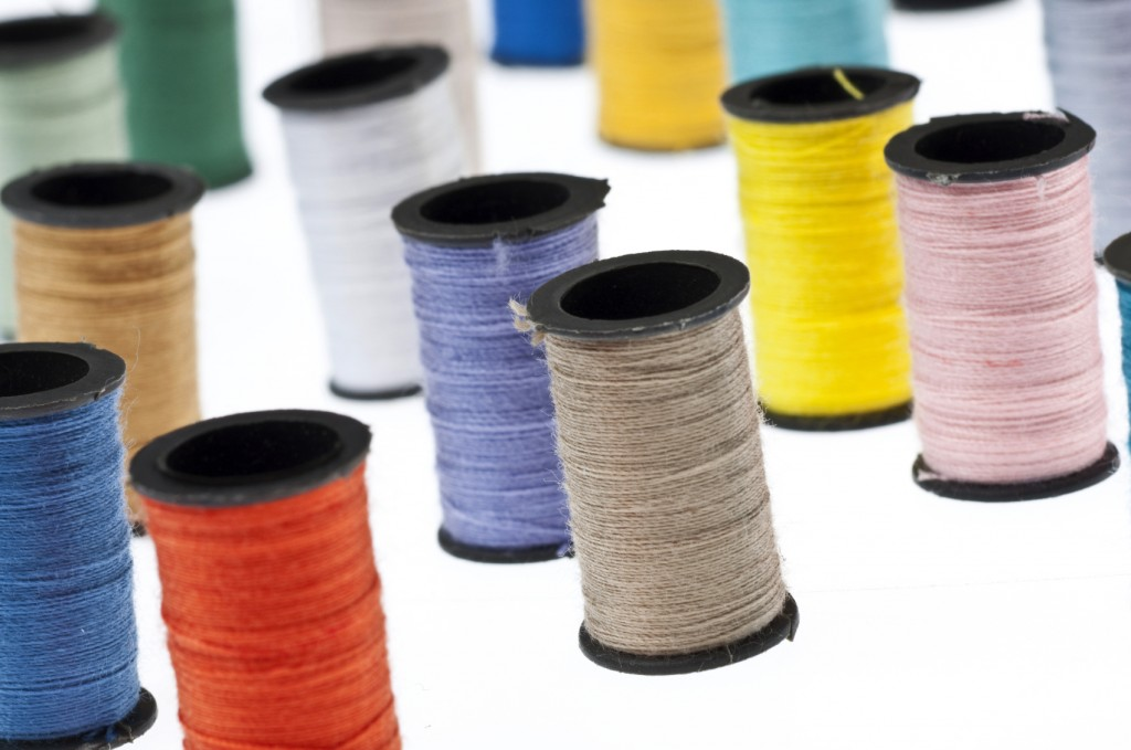 Spools of Thread Background