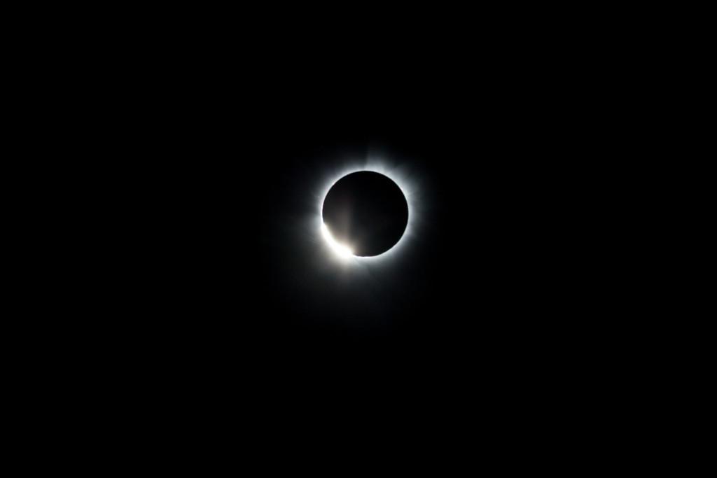 Total Solar Eclipse Diamond Ring