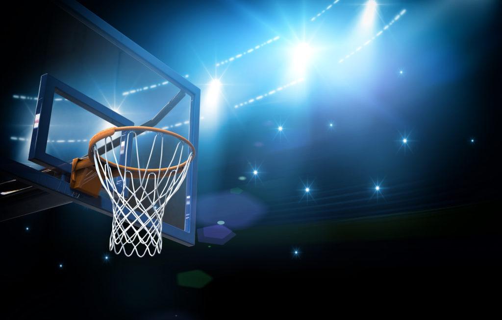 Basketball arena 3d